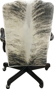 Avalanche Mountain Modern Cowhide Office Chair