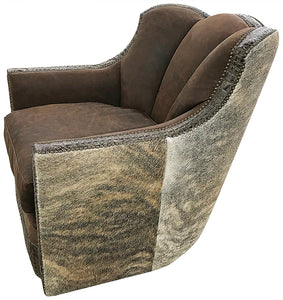 High Desert Channelback Swivel Glider