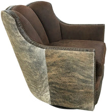 Load image into Gallery viewer, High Desert Channelback Swivel Glider