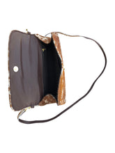 Load image into Gallery viewer, Cowhide Crossbody Clutch - Longhorn