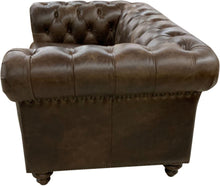 Load image into Gallery viewer, Chesterfield Rustic Western Love Seat
