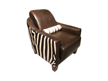 Load image into Gallery viewer, Zebra Contemporary Club Chair