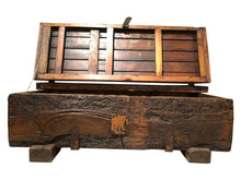 Load image into Gallery viewer, Reclaimed Wood Storage Coffee Table (w/Key)