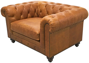 Chesterfield Chair And 1/2