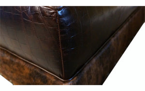"""Vaquero"" Rectangle 36""x60"" Ottoman"