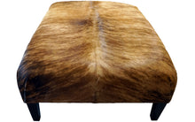 Load image into Gallery viewer, Mountain Modern Cowhide Ottoman