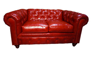 """Roja"" Tufted Love Seat"