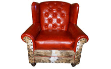 Load image into Gallery viewer, Roja Diamond Tufted Oversized Wingback