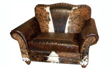 Load image into Gallery viewer, Wild Bill Western Leather Chair and 1/2