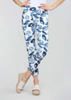 Blue Nile Print 28'' Slim Ankle Pant