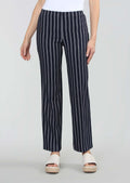 Chain Stripe Print 31'' Wide Trouser, No Waistband
