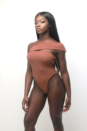 Kenya Bodysuit In Ebony - Sincerely Nude