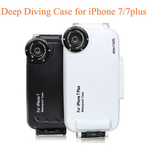 40M Diving! Waterproof Case for iPhone 7/7Plus Top Quality Plastic Diving Phone Bag Cover for Swimming underwater photography - Infinite Covers iPhone Cases