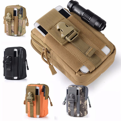 Put it on your Belt Amazing military Universal Case for all models and brands with Zipper Phone Bag Case Pouch. - Infinite Covers iPhone Cases