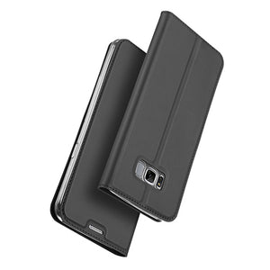 Luxury Leather Flip Case For Samsung Galaxy S8 Case Plus Shockproof Wallet Cover Cases For Galaxy S8 Card Holder for Samsung S8 - Infinite Covers iPhone Cases All the most premium phone Cases both for android and iPhone