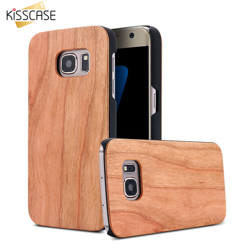 For Samsung Galaxy S8 S8+ S7 S7 Edge Vintage Bamboo Cherry Wooden Cover - Infinite Covers iPhone Cases All the most premium phone Cases both for android and iPhone