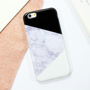 Marble Wood TPU Phone Cases For iPhone 7S/7S Plus/6S/6S Plus/5S. Ultra slim Soft TPU Back Cover