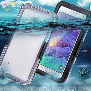 Note 4 Case Swimming Waterproof Cases For Samsung Note 4 Note 5 Protective Phone Case