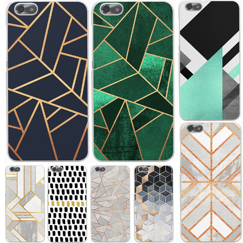 Marble Lines Luxury Hard Case Cover for Huawei P10 P9 P8 Lite Plus P7 6 G7 & Honor 8 Lite 4C 4X 7 - Infinite Covers iPhone Cases All the most premium phone Cases both for android and iPhone