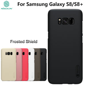 For Samsung Galaxy S8/S8 Plus Case NILLKIN Frosted PC Plastic Back Cover With Gift Screen Protector