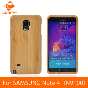 For SAMSUNG GALAXY Note 4 Cover Luxury Wooden Phone Case For SAMSUNG Note 4 N9100 High Quality Hard Back Cover - Infinite Covers iPhone Cases All the most premium phone Cases both for android and iPhone