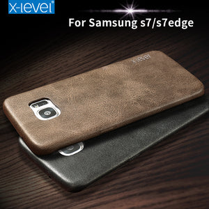 PU Leather Case for Samsung Galaxy S7/S7 Edge Ultra thin Phone Case For Galaxy S7 Protective Back Cover - Infinite Covers iPhone Cases All the most premium phone Cases both for android and iPhone