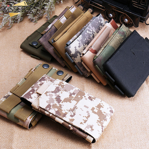 5.5 inch Universal Phone Pouch Cases For Samsung S8 S7 Outdoor Sports Military Style Case For iPhone 8/6S/6S Plus/7S/7S Plus