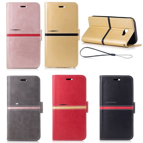 Samsung models Galaxy A3 A5 2017 2016 Case Leather Wallet Flip Case For Samsung A3 A5 2016  A310 A510 - Infinite Covers iPhone Cases All the most premium phone Cases both for android and iPhone