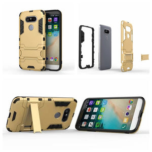 LG G5 case Dual Hybrid Armor Bracket with Stand For LG G5 H850 H830 H860N Protective Phone Back Cover Coque Funda