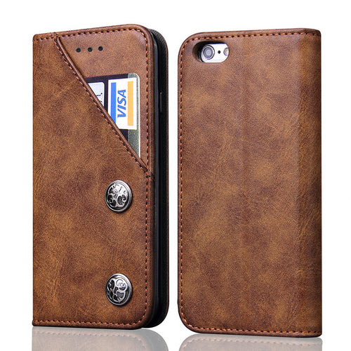 Case For iPhone 8S/7S/7S Plus/6S/6S PU Leather Wallet Flip Style With Card Holder Phone Bags Cover Cases - Infinite Covers iPhone Cases All the most premium phone Cases both for android and iPhone