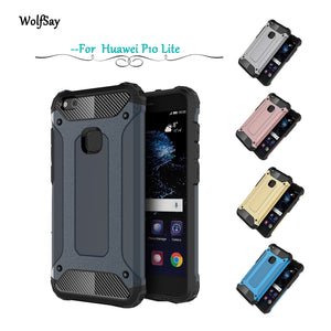 For Case Huawei P10 Lite Cover Slim Armor Rubber + PC Phone Case - Infinite Covers iPhone Cases All the most premium phone Cases both for android and iPhone