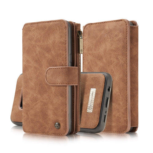 Wallet Case For Samsung Galaxy S8 / S8 Plus Luxury Leather Case with Flip - Infinite Covers iPhone Cases All the most premium phone Cases both for android and iPhone