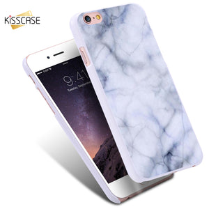 White Marble Stone Phone Case For Samsung Galaxy S7/S7 Edge/S6/S6 Edge/S6 Plus For iPhone 7S/7S Plus Back Cover