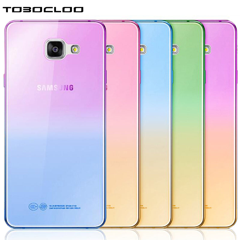 For Samsung Galaxy S3 S4 S5 S6 S7 edge S8 PLUS A3 A5 A7 2017 2016 j5 j3 prime 2017 Transparent Clear Soft TPU Case Cover Capa