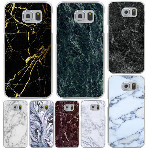 Fashion Marble Phone Case for Galaxy S7/S7 Edge/S8 Edge/S6 Edge/Plus/S5/4S & Mini models