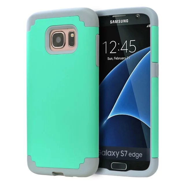Armor High Protection Phone Case For Samsung Galaxy S7/S7 Edge Case PC + Silicone Armor