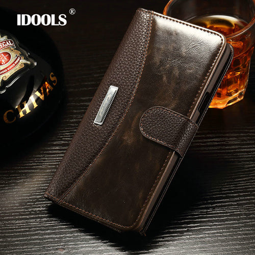 Super Standard Wallet Style PU Leather Case For Samsung Galaxy S7/S7 Edge Cover Vintage with Stand and card holders - Infinite Covers iPhone Cases All the most premium phone Cases both for android and iPhone