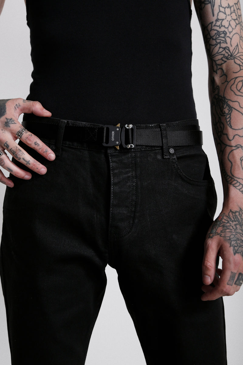 114 Essential Jeans | Oil Wash - OTHER UK Rock Goth Punk Urban Gangster Streetwear Skate Emo Motorcycle Biker