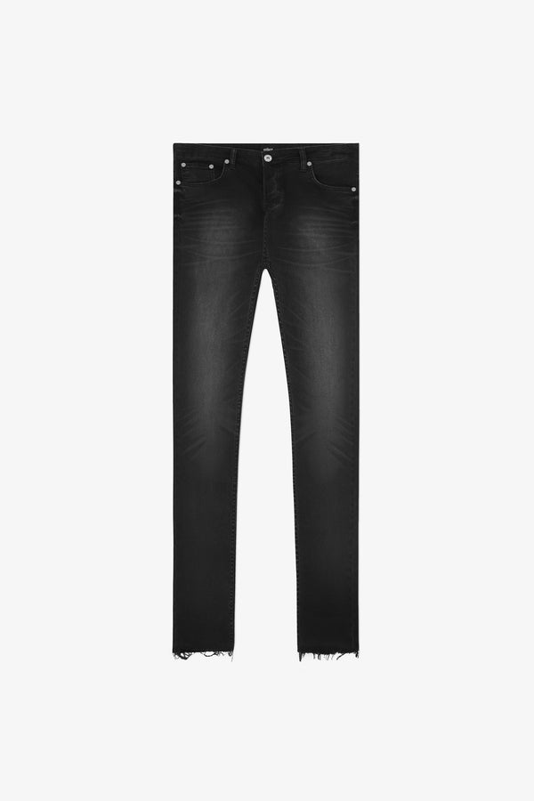 116 Raw Edge Jeans | Vintage Black