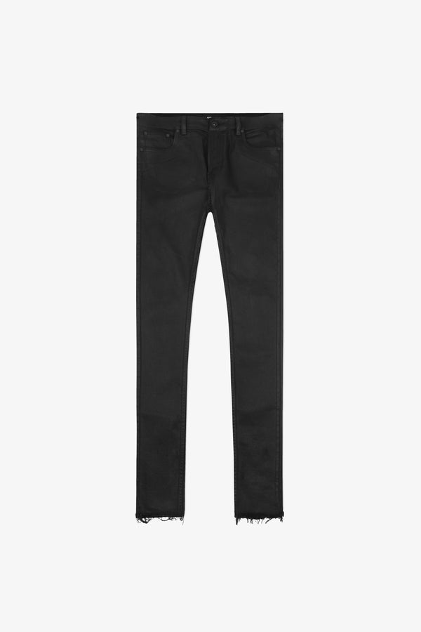 116 Raw Edge Jeans | Waxed Black