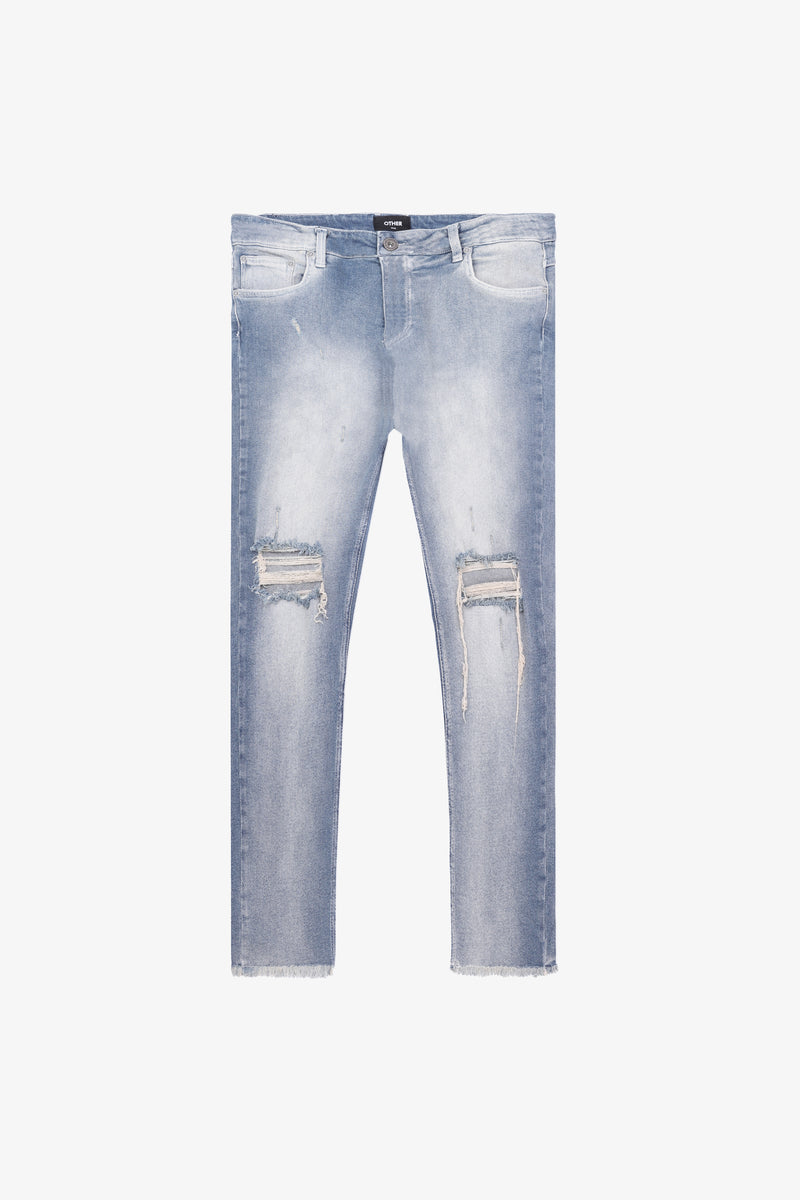 118 Distressed Jeans | Desert Wash