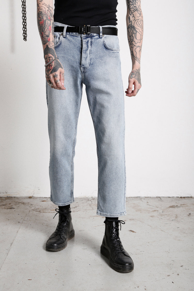 118 Essential Jeans | Vintage Blue - OTHER UK  Ripped Distressed Destroyed Torn Rock Punk Emo Gangster Urban