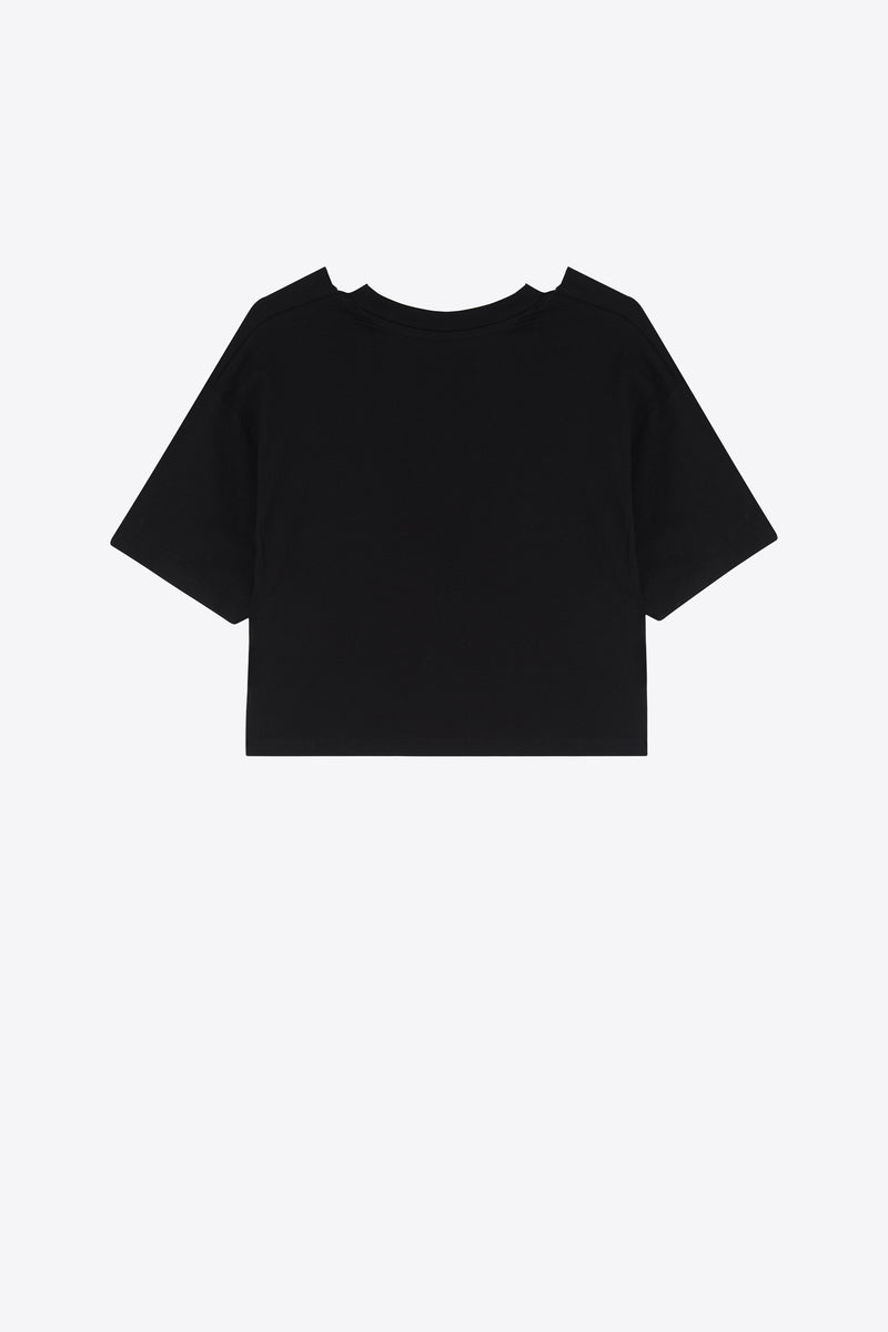 Bad Reputation Oversized Cropped Top