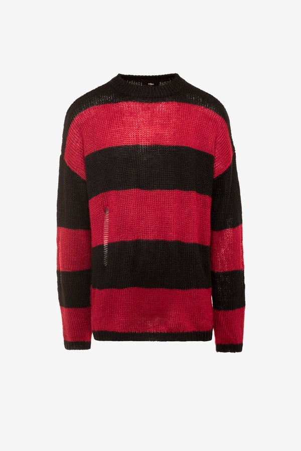 Distressed Cobain Jumper