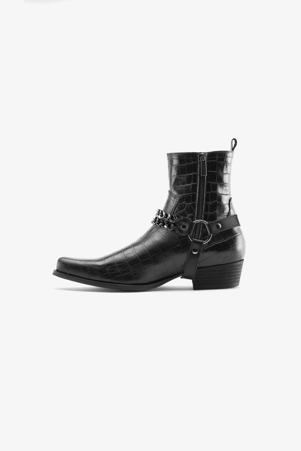 Nomad Western Chained Boot
