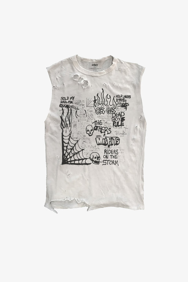 Graffiti Thrasher Tank