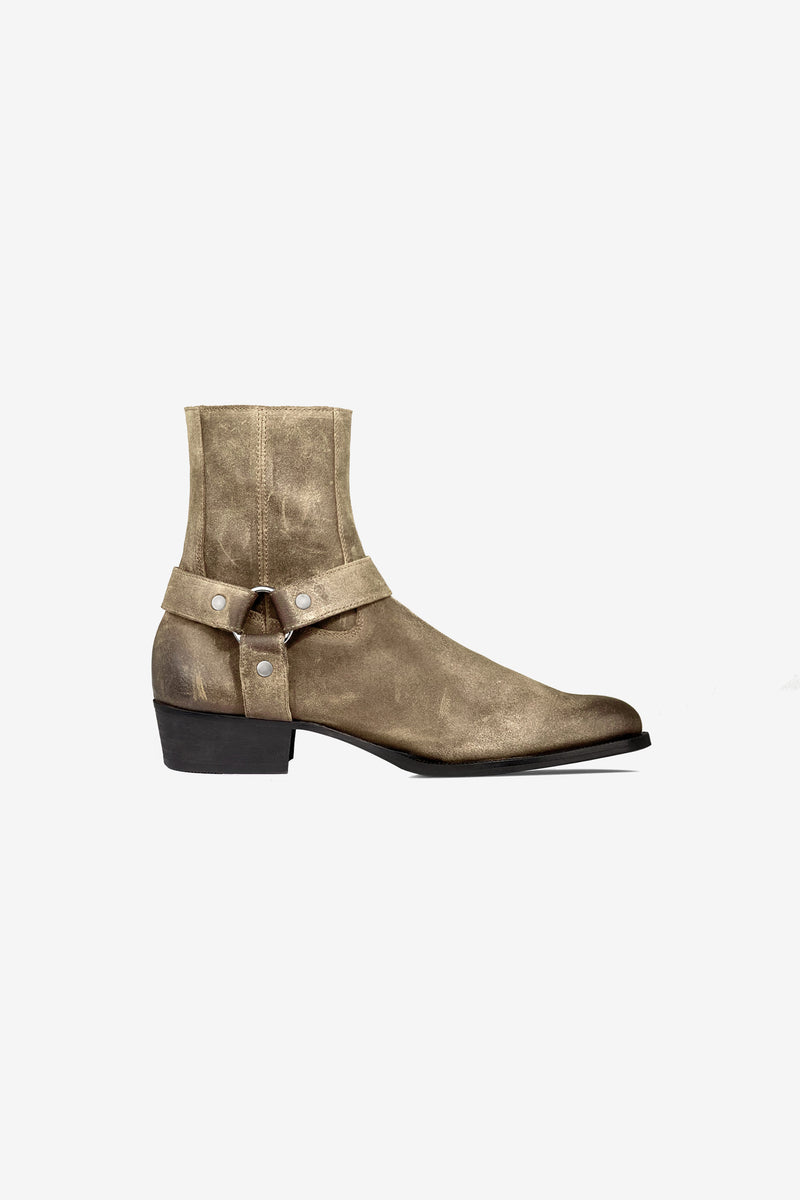 Harness Boot | Tobacco Relic