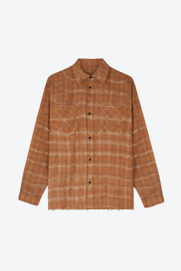 Faded Flannel Shirt
