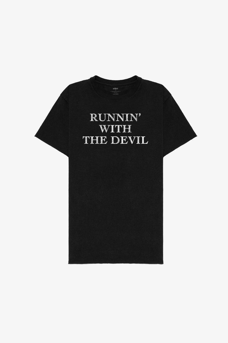 Runnin With The Devil Tee