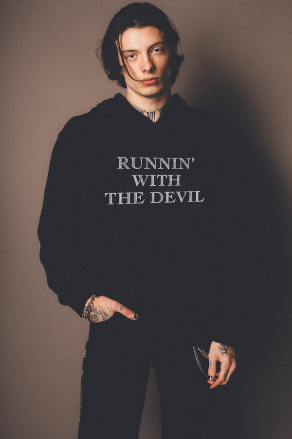 Runnin With The Devil Hoodie